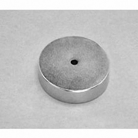 "RX424 Neodymium Ring Magnet, 1 1/4"" od x 1/8"" id x 1/4"" thick"