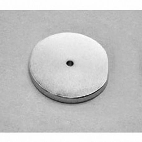 "RX822 Neodymium Ring Magnet, 1 1/2"" od x 1/8"" id x 1/8"" thick"