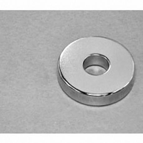 "RX884 Neodymium Ring Magnet, 1 1/2"" od x 1/2"" id x 1/4"" thick"