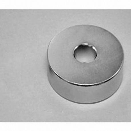 "RXC88 Neodymium Ring Magnet, 1 3/4"" od x 1/2"" id x 1/2"" thick"
