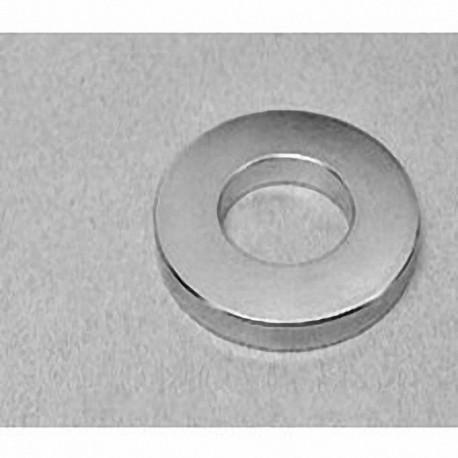 """RY0X04 Neodymium Ring Magnet, 2"""" od x 1"""" id x 1/4"""" thick"""