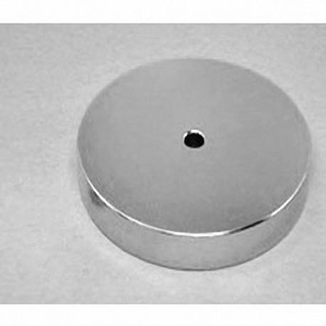 """RZ048 Neodymium Ring Magnet, 3"""" od x 1/4"""" id x 1/2"""" thick"""