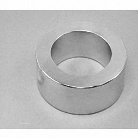 "RZ0Y0X0 Neodymium Ring Magnet, 3"" od x 2"" id x 1"" thick"