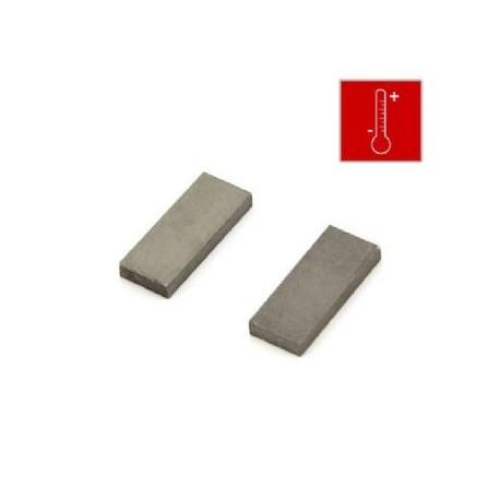 25 x 10 x 3mm thick Samarium Cobalt Block Magnet