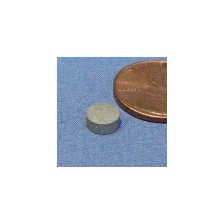 """1/4"""" X 1/10"""" Samarium Cobalt Magnet"""