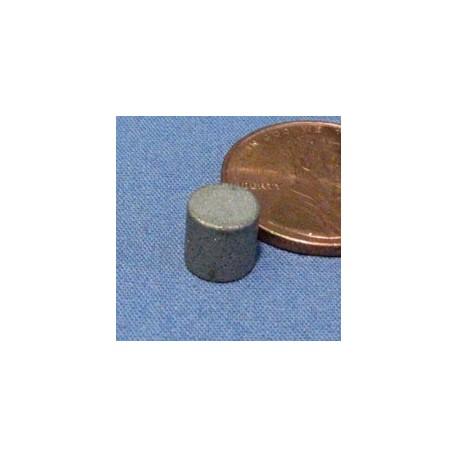"""1/4"""" X 1/4"""" Samarium Cobalt Magnet"""