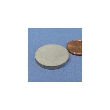 """1"""" X 1/8"""" Samarium Cobalt Magnet"""