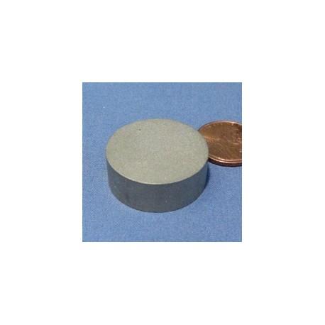 """1"""" X 3/8"""" Samarium Cobalt Magnet"""