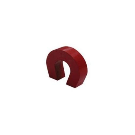 """""""Pocket Size"""" Red Alnico Horseshoe Magnet"""