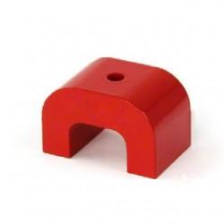 Medium Red Alnico Horseshoe Magnet